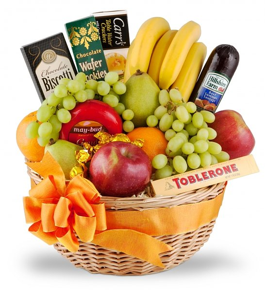 Fruit Basket with Choclates